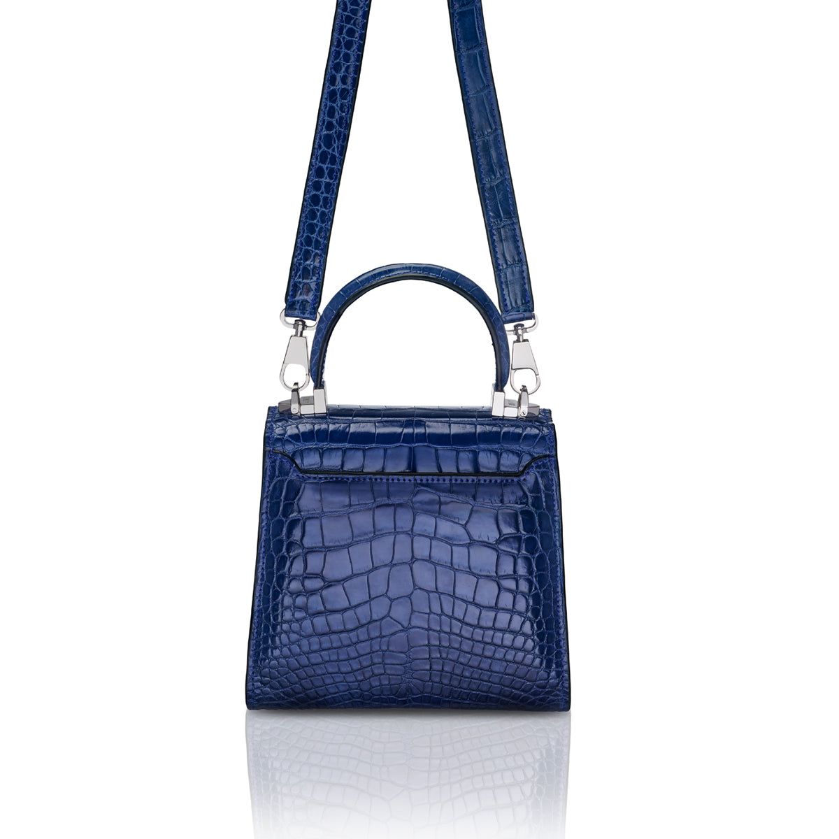 Trapezoid 1.55 Mini - Royal Blue Alligator