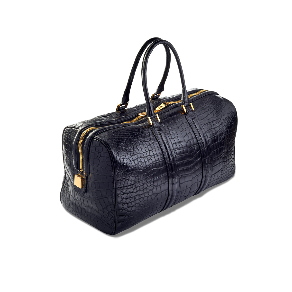 Wong Duffel - Black Alligator