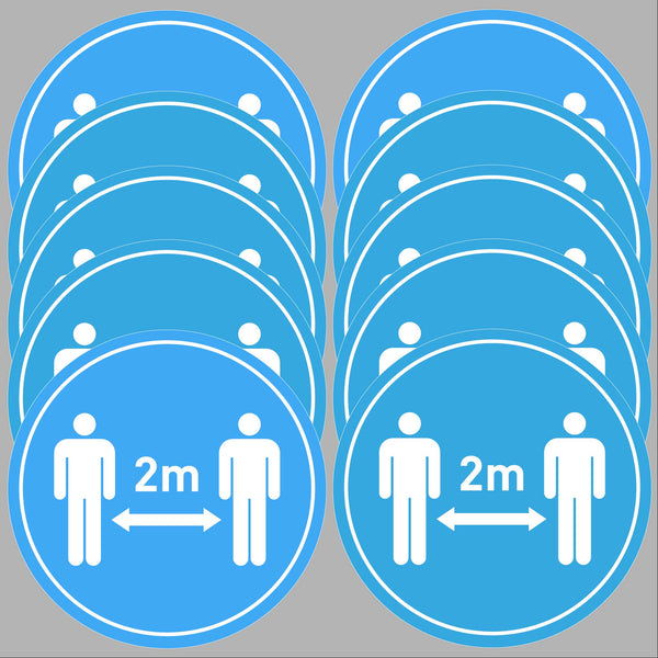 Keep 2m distance (10 pack)
