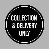 Collection and delivery only