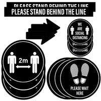 Large social distancing bundle (56 stickers)
