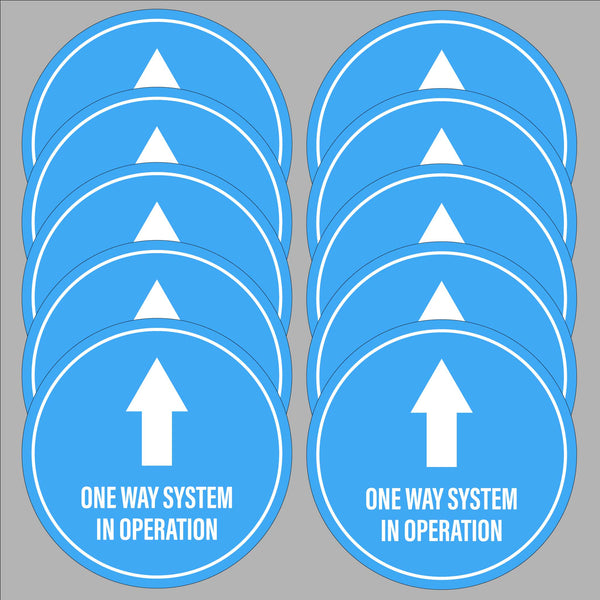 One Way System (10 pack)
