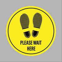 Please wait here