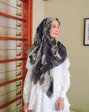 Load image into Gallery viewer, Scarf Marble Series Black