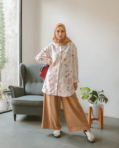 Nome Top Printed Floret Series Leaf