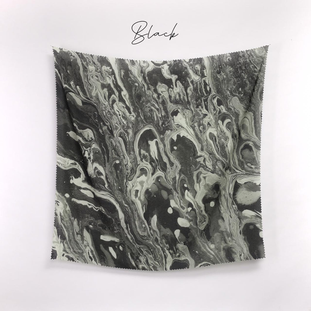 Scarf Marble Series Black