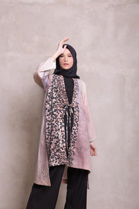 Rune Outer Printed Fur Sand