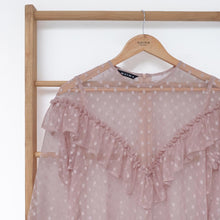 Load image into Gallery viewer, Nouna Tunic Tulle Mocca
