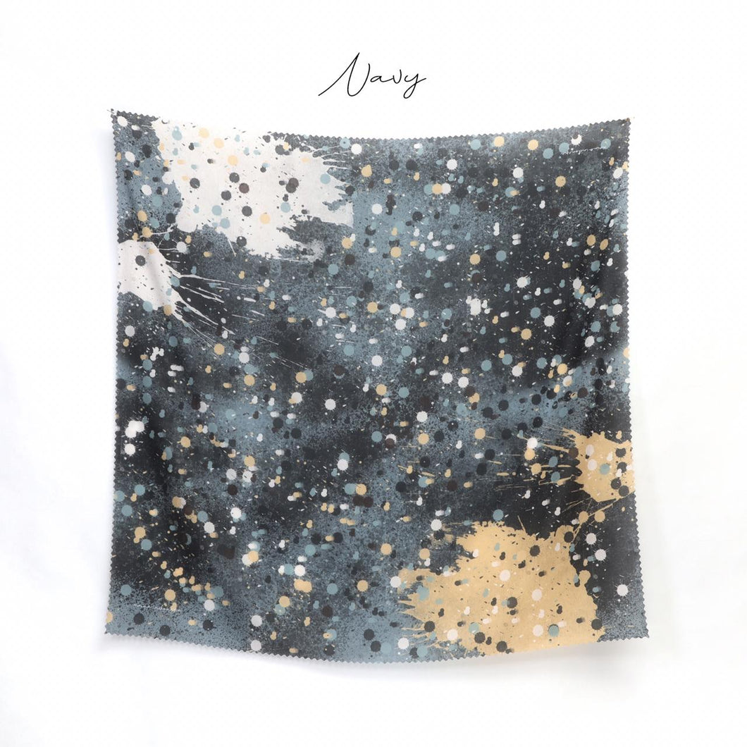 Scarf Stained Series Navy