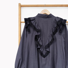 Load image into Gallery viewer, Ceryl Tunic Dark Grey
