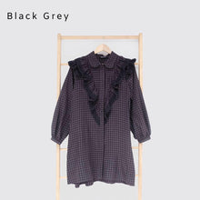 Load image into Gallery viewer, Ceryl Tunic Black Grey