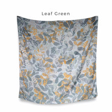 Load image into Gallery viewer, Scarf Blossom Series Leaf Green