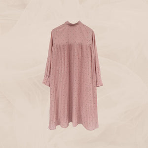 Bylla Tunic Pleats Dusty Rose