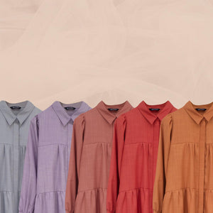 Kossy Tunic Light Terracotta