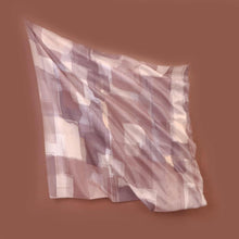 Load image into Gallery viewer, Scarf Brick Series Light Choco