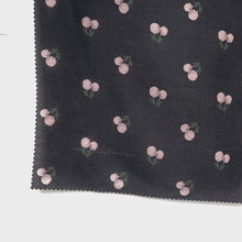 Load image into Gallery viewer, Maima Scarf Freshness Series Fruit & Floret -Cherry Vol 2- Black Lilac