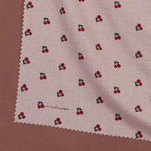 Load image into Gallery viewer, Maima Scarf Fruit & Floret Vol. 1 -Cherry- Dusty Cherry
