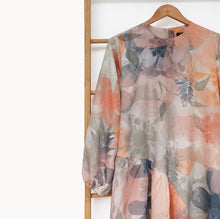 Load image into Gallery viewer, Lica Dress Printed Blossom Series Coral
