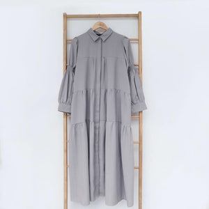 Thena Dress Grey