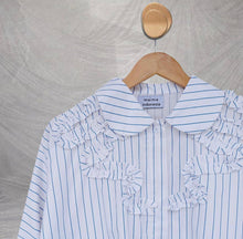 Load image into Gallery viewer, Ryn Top Stripe White Denim