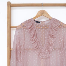Load image into Gallery viewer, Lome Tunic Tulle Mocca