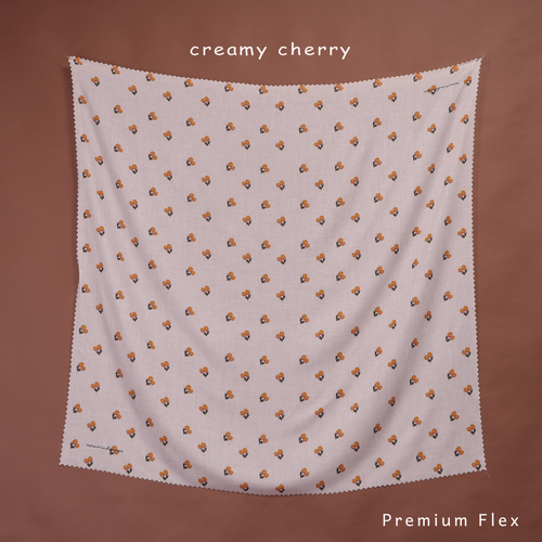 Maima Scarf Fruit Vol. 1 Creamy Cherry Premium Flex
