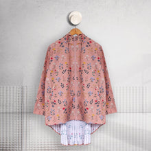 Load image into Gallery viewer, Pleated Parka Fleur Series - Dusty Fleur -