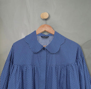 Kea Top Denim Polka