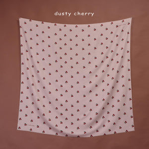 Maima Scarf Fruit & Floret Vol. 1 -Cherry- Dusty Cherry