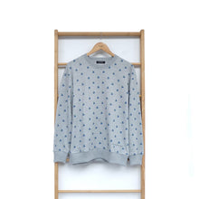 Load image into Gallery viewer, Maima Sweater Fruit & Floret -cherry- Grey Navy Cherry