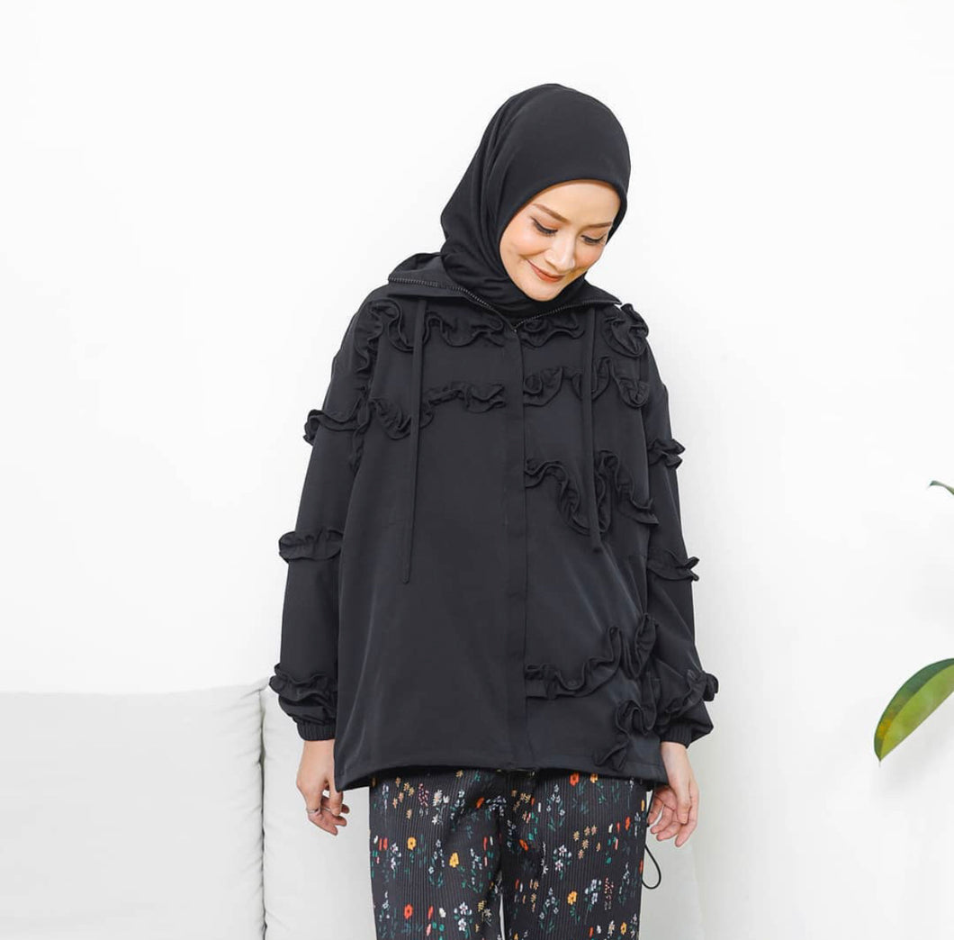 Cane Jacket Black