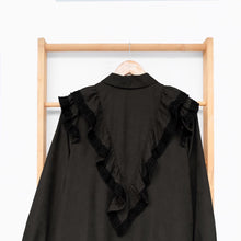 Load image into Gallery viewer, Ceryl Tunic Black Corduroy