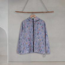 Load image into Gallery viewer, Lite Printed Jacket - Grey Fleur - Fleur Series