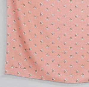 Maima Scarf Freshness Series Fruit & Floret -Pastel Cherry- Pink Candy
