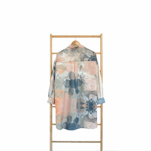 Nome Top Printed Blossom Series Creamy Coral
