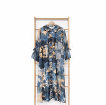 Load image into Gallery viewer, Rolla Dress Printed Blossom Series Navy