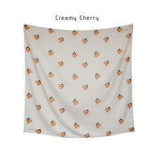 Load image into Gallery viewer, Maima Scarf Fruit & Floret Vol. 1 -Large Cherry- Creamy Cherry