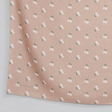 Load image into Gallery viewer, Maima Scarf Freshness Series Fruit & Floret -Pastel Cherry- Light Brown
