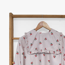 Load image into Gallery viewer, Cerra Tunic Printed Fruit & Floret -cherry- Dusty Cherry