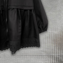 Load image into Gallery viewer, Noir Lace Jacket Despo Black