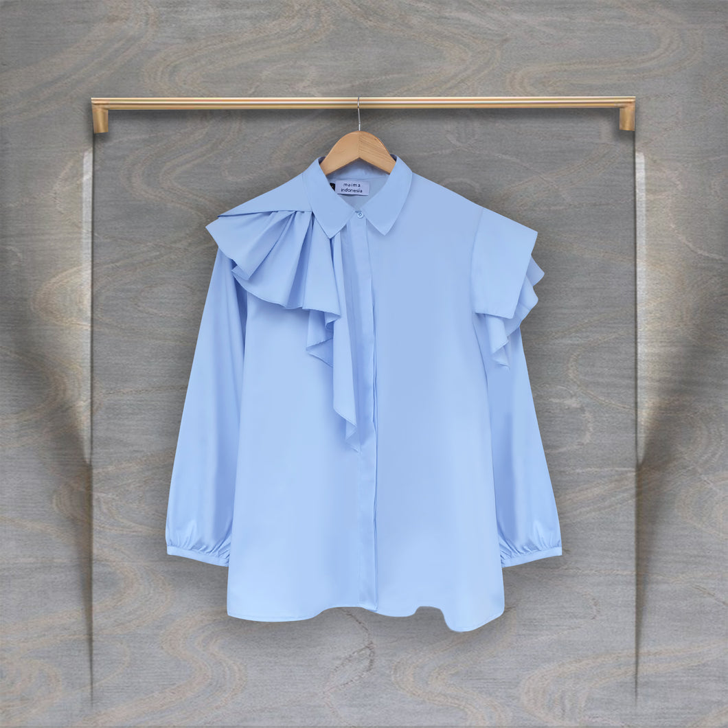 Lona Top Light Blue