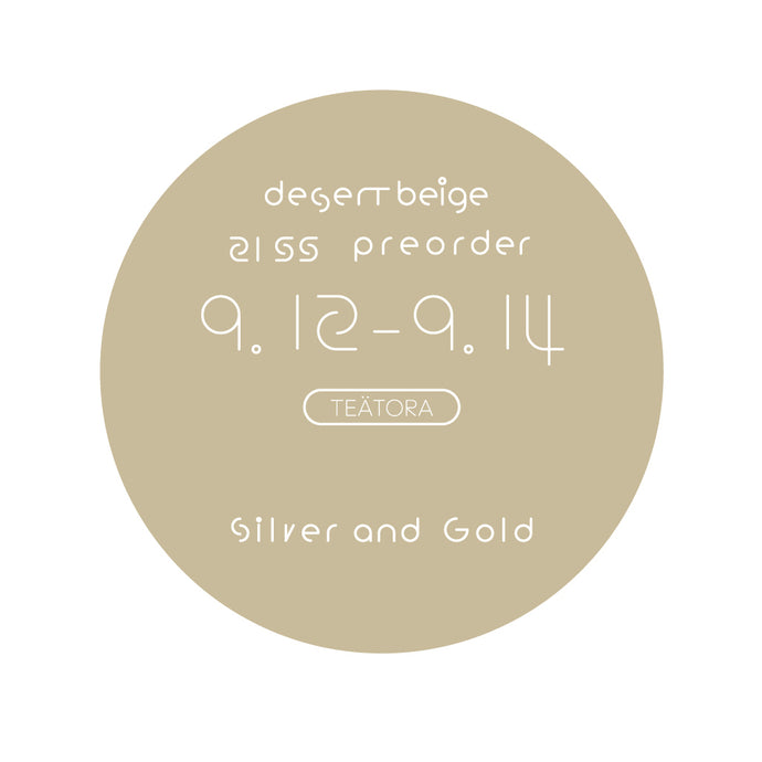 preorder ; Silver and Gold