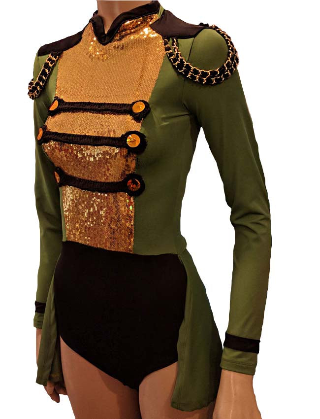 Army Jazz Dance Costume