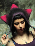 Felted Hat Black Star
