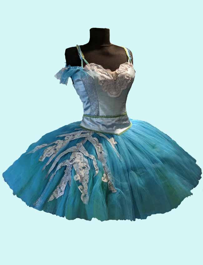 The Sleeping Beauty Ballet Tutu Pro - Blue Bird
