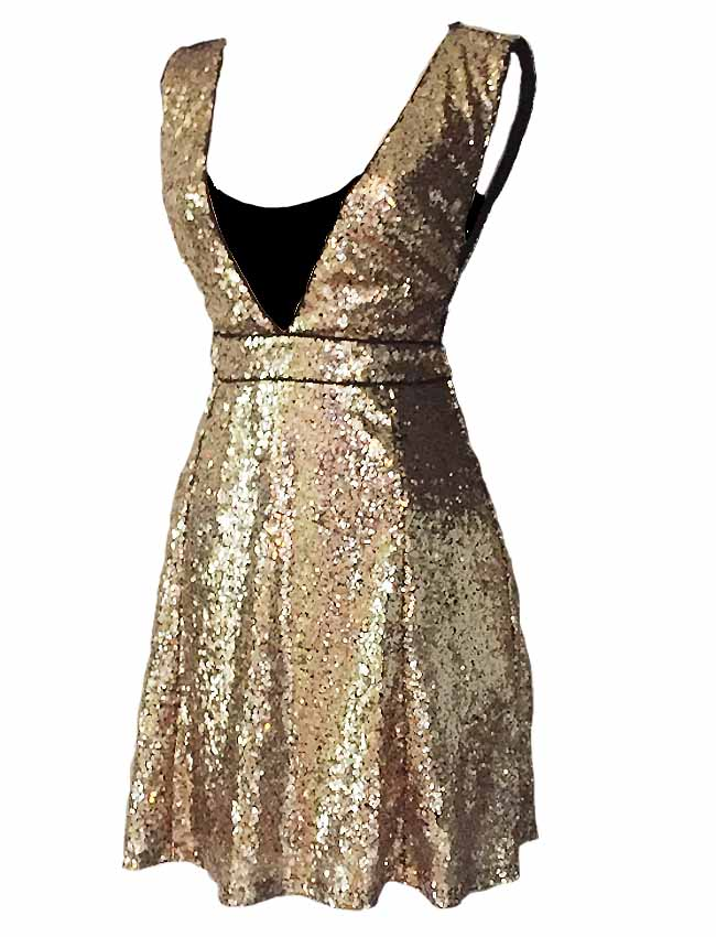 The Punk Ballerina Collection Sequin Gown
