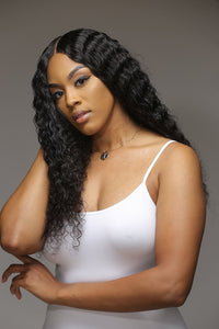 Deep Wave 6x6 Closure Wig