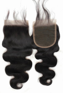 Body Wave 4x4 Closures
