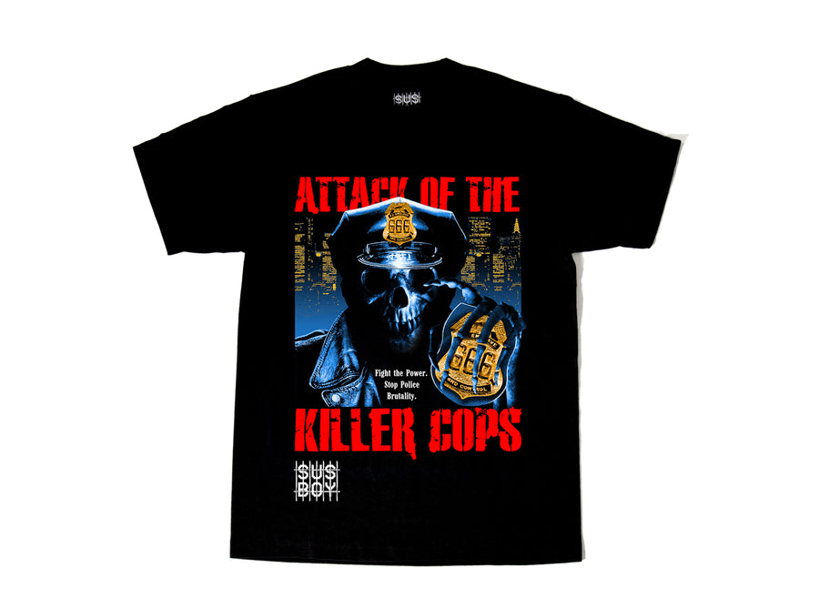 Killer Cops Fundraiser Tee - Black