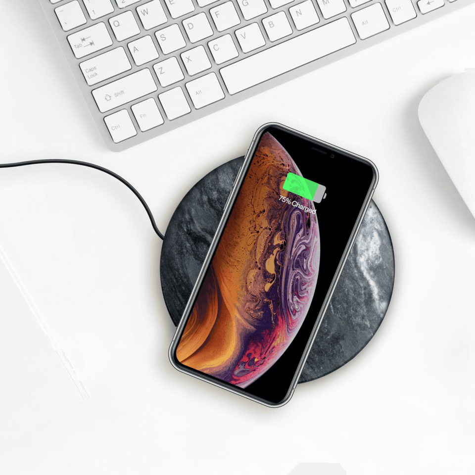 Eggtronic 10W Wireless Charging Genuine Marble Stone